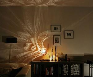dark, room, and decoration image