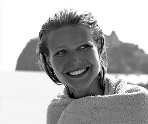 Gwyneth Paltrow photographed by Lance Staedler on the set of The Talented Mr. Ripley (1999).