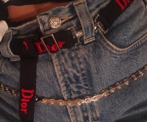 aesthetic, jeans, and dior image