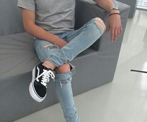 beatiful, shoes, and jeans image