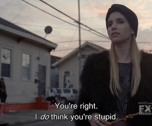 emma roberts, american horror story, and ahs image