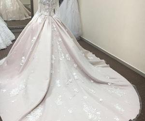 inspiration, dress, and wedding image