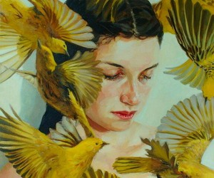 art, yellow, and cute image