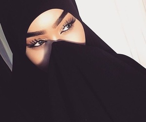 girl, islam, and lovely image