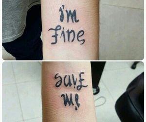 tattoo and help image