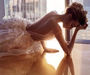 bride, clothes, and fashion image