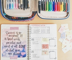 notebook and study image