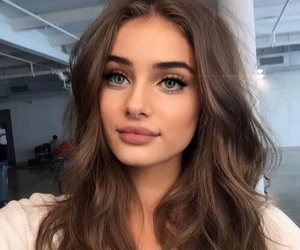 girl, model, and makeup image