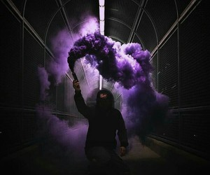 dark, purple, and photography image