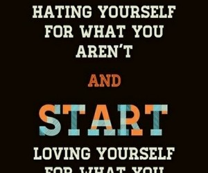 lol, start, and love yourself image