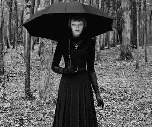 alternative, goth, and gothic girl image
