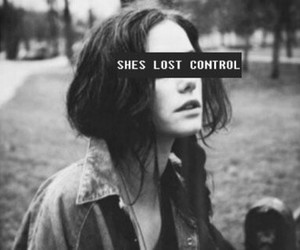 lost, control, and black and white image