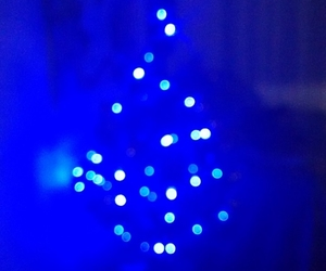 blue, happy, and christmas image
