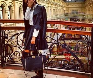 bag, beautiful, and black image