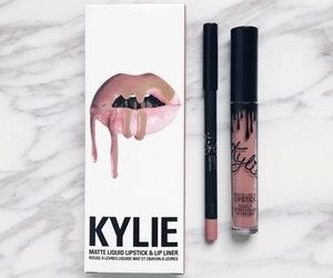 makeup, lipstick, and kylie image