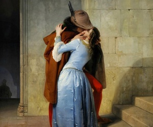 kiss, art, and hayez image