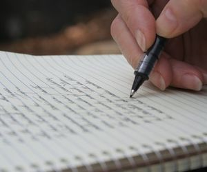 pen and writing image