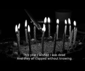 birthday and sad image