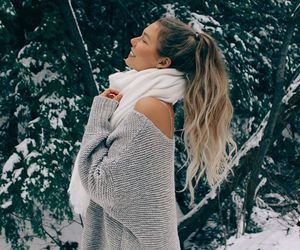 fashion, glamour, and winter image