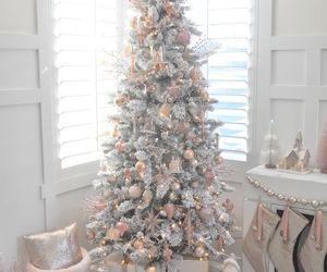christmas, christmas tree, and white image