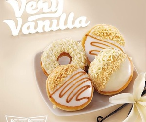 candy, cream, and doughnuts image