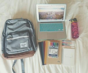 school, college, and notebook image