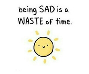 happy, sun, and sad image