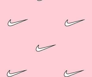 pink, wallpaper, and nike image