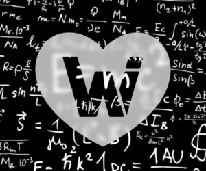 black and white, Logo, and whiheart image