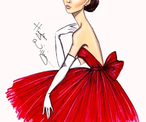 hayden williams, red, and audrey hepburn image
