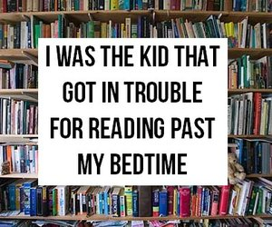 book, reading, and trouble image