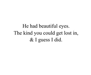quote, eyes, and lost image