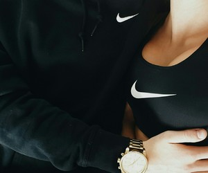nike, couple, and goals image