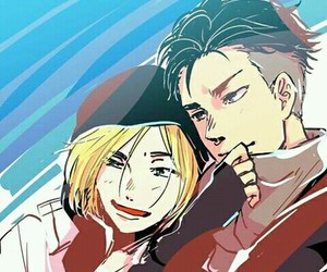 yuri on ice and otabek image