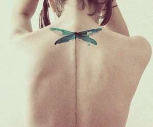 back, vintage, and dragonfly image