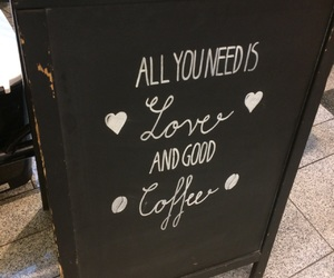 coffee, love, and allyouneed image