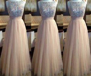 beautiful, party, and dress image