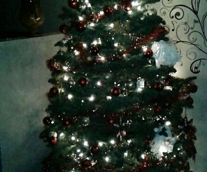 christmas tree and decorations image