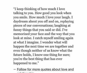 couples, falling in love, and quotes image
