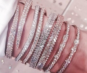 bracelet, inspirational, and diamonds image
