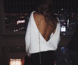 fashion, girl, and night image