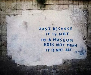 art, quotes, and museum image