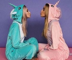 unicorn, bff, and friends image