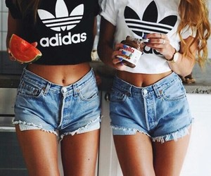 adidas, friends, and nutella image