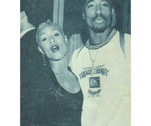 2pac, couples, and rip image