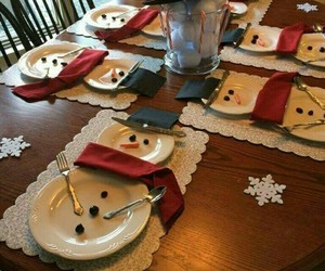 christmas, decoration, and snowman image