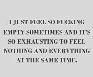 depression, everything, and feeling image