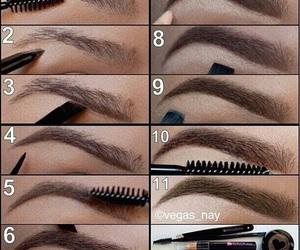 browns, make up, and makeup image