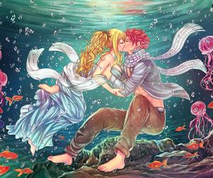 anime, nalu, and fairy tail image