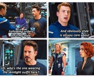 Avengers, black widow, and cap image